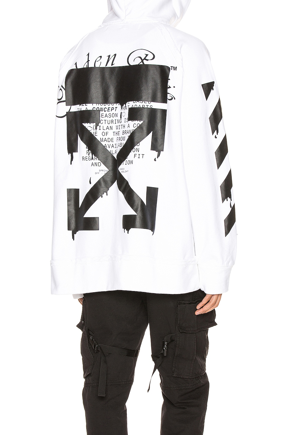 OFF-WHITE SUDADERA INCOMP
