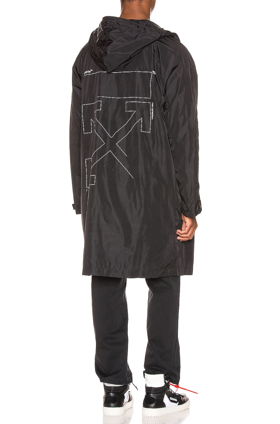 OFF-WHITE IMPERMÉABLE UNFINISHED