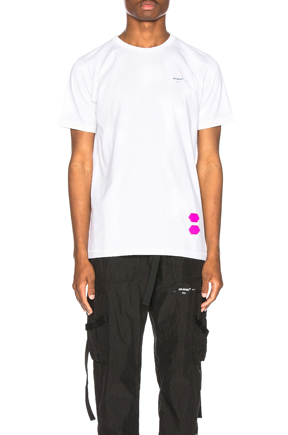 OFF-WHITE EXCLUSIVE Short Sleeve Tee in White