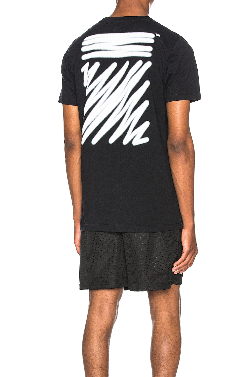 OFF-WHITE T-SHIRT MANCHES COURTES FWRD EXCLUSIVE