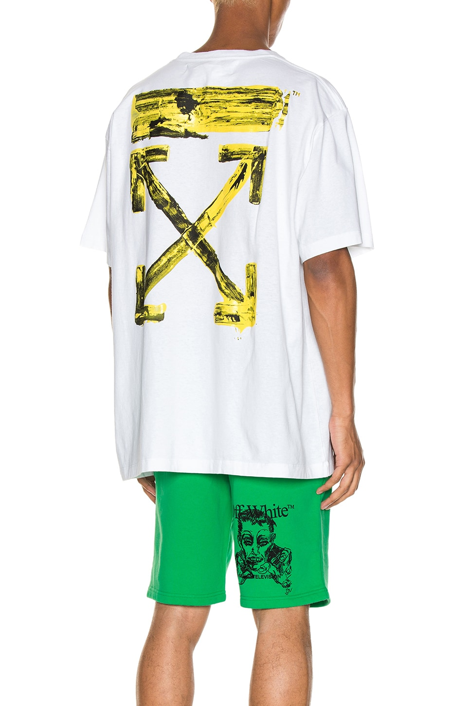 OFF-WHITE T-SHIRT ACRYLIC ARROWS