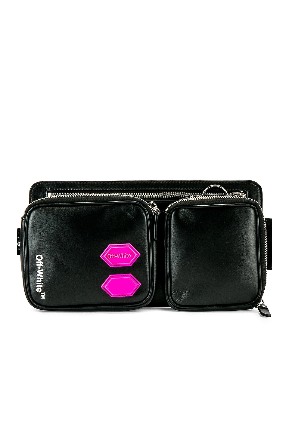 OFF-WHITE EXCLUSIVE Hip Bag in Black