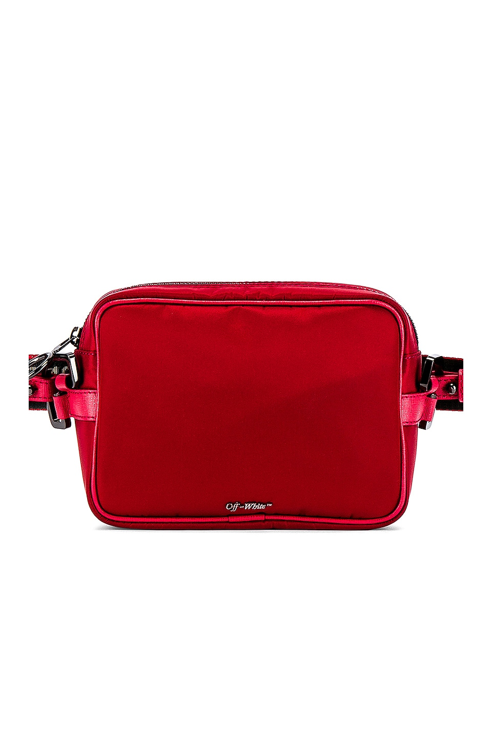 OFF-WHITE Crossbody Bag in Red