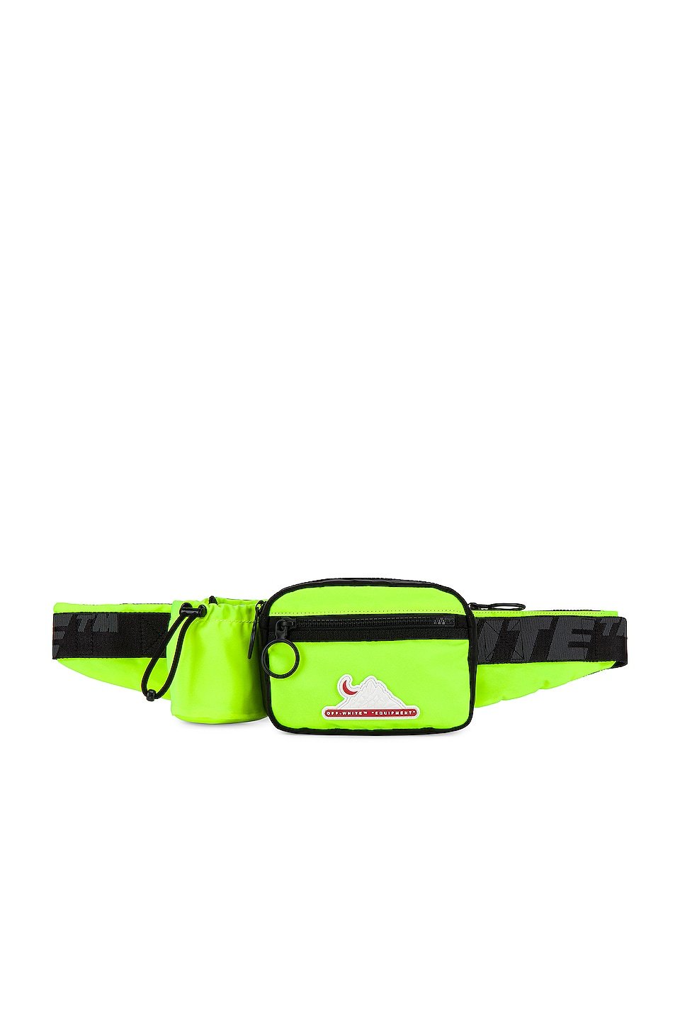 OFF-WHITE Equipment Fanny Pack in Fluo Yellow