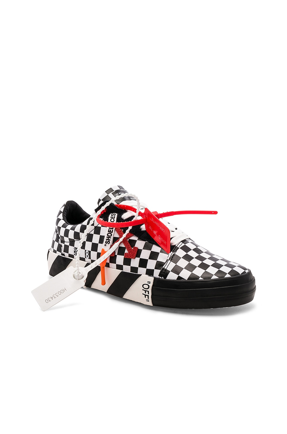 a544b349 OFF-WHITE Vulc Low Sneaker in Check | REVOLVE