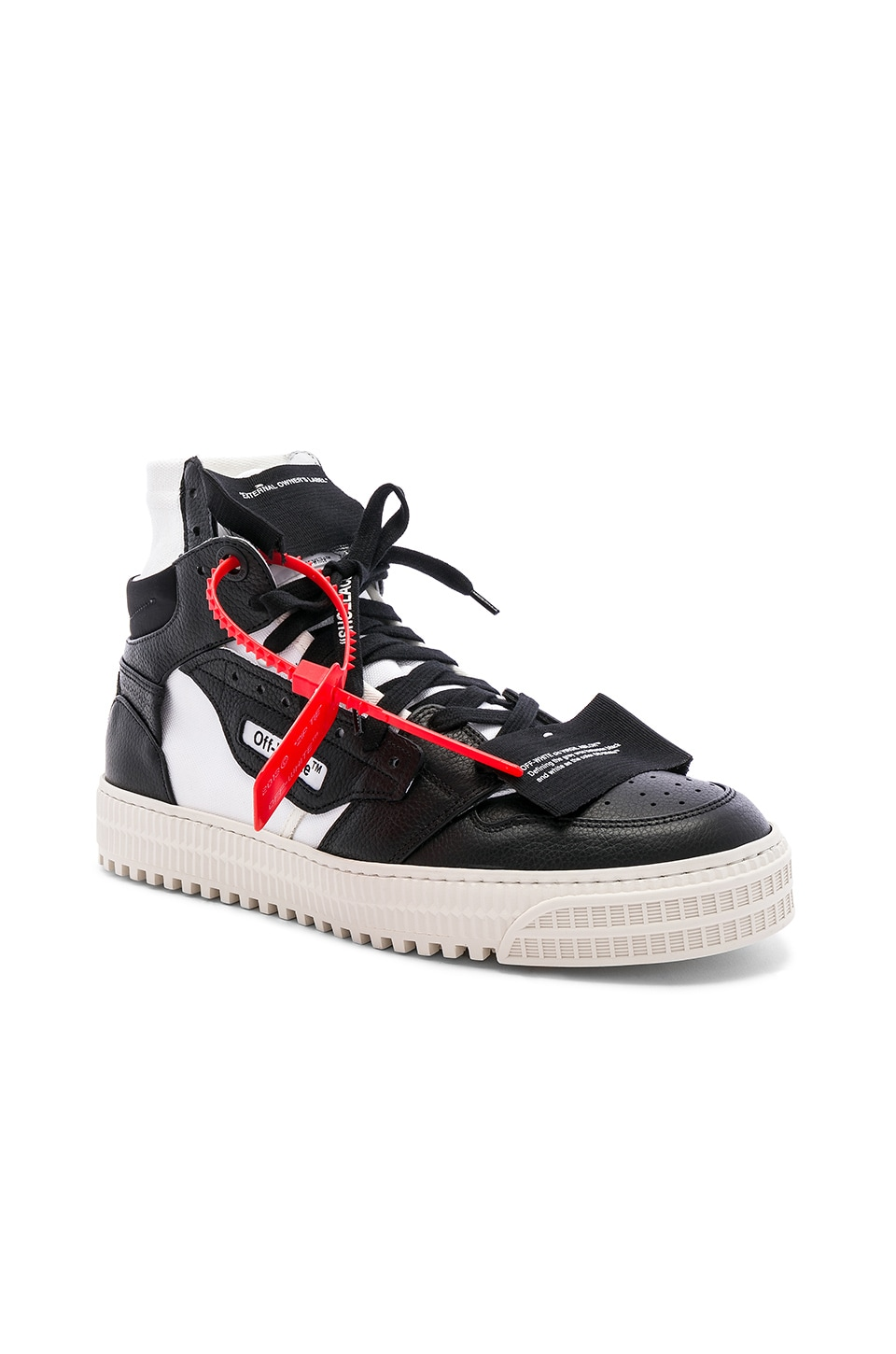 aba194cd8ee44c OFF-WHITE Off Court Sneaker in Black