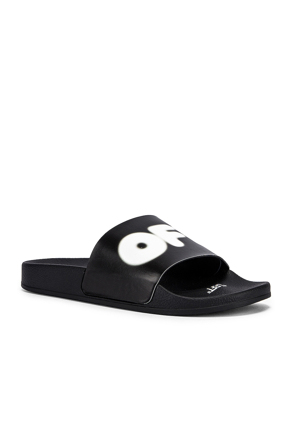 OFF-WHITE EXCLUSIVE Slides in Black