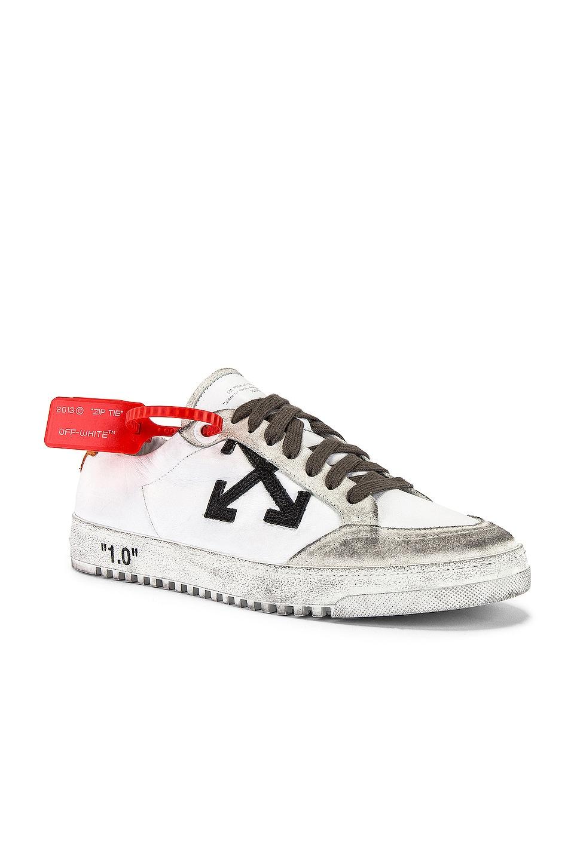 OFF-WHITE 2.0 Sneaker in White & Orange