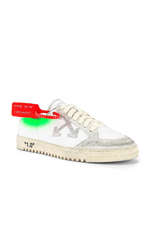 OFF-WHITE 2.0 Sneaker in White & Green