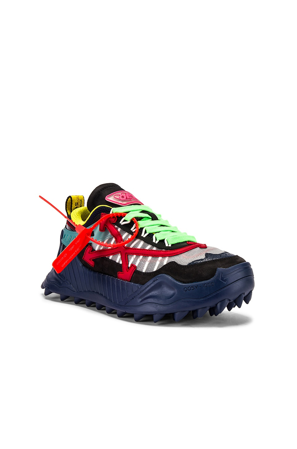 OFF-WHITE Odsy-1000 Sneaker in Blue & Red