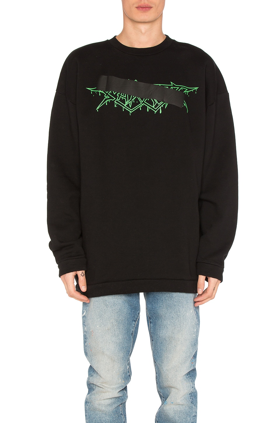 Rock Mirror Crewneck by OFF-WHITE