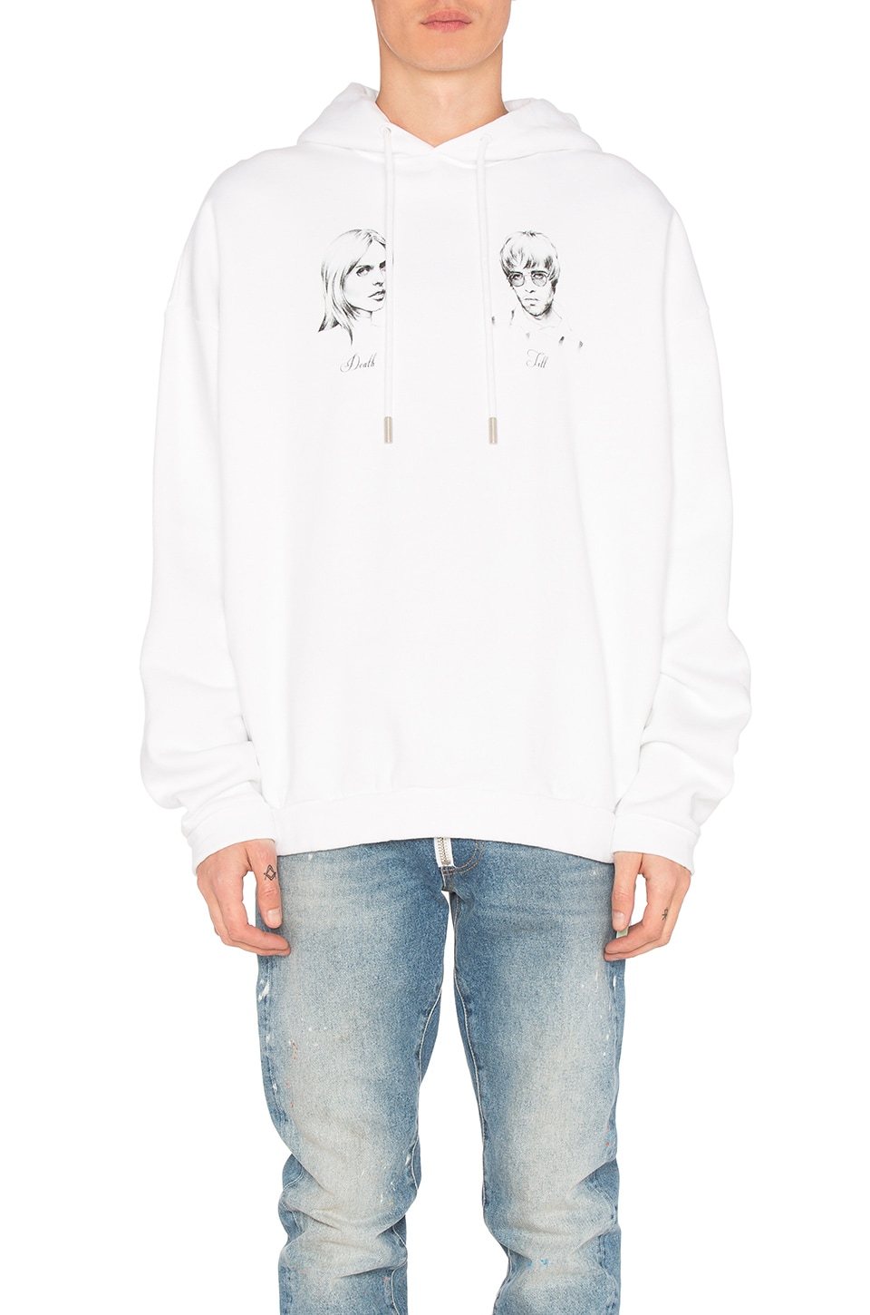 Till Death Hoodie by OFF-WHITE