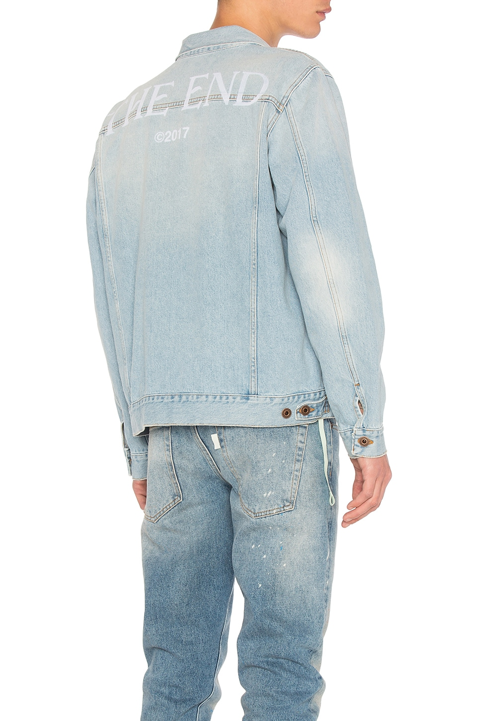 Scorpian Denim Jacket by OFF-WHITE