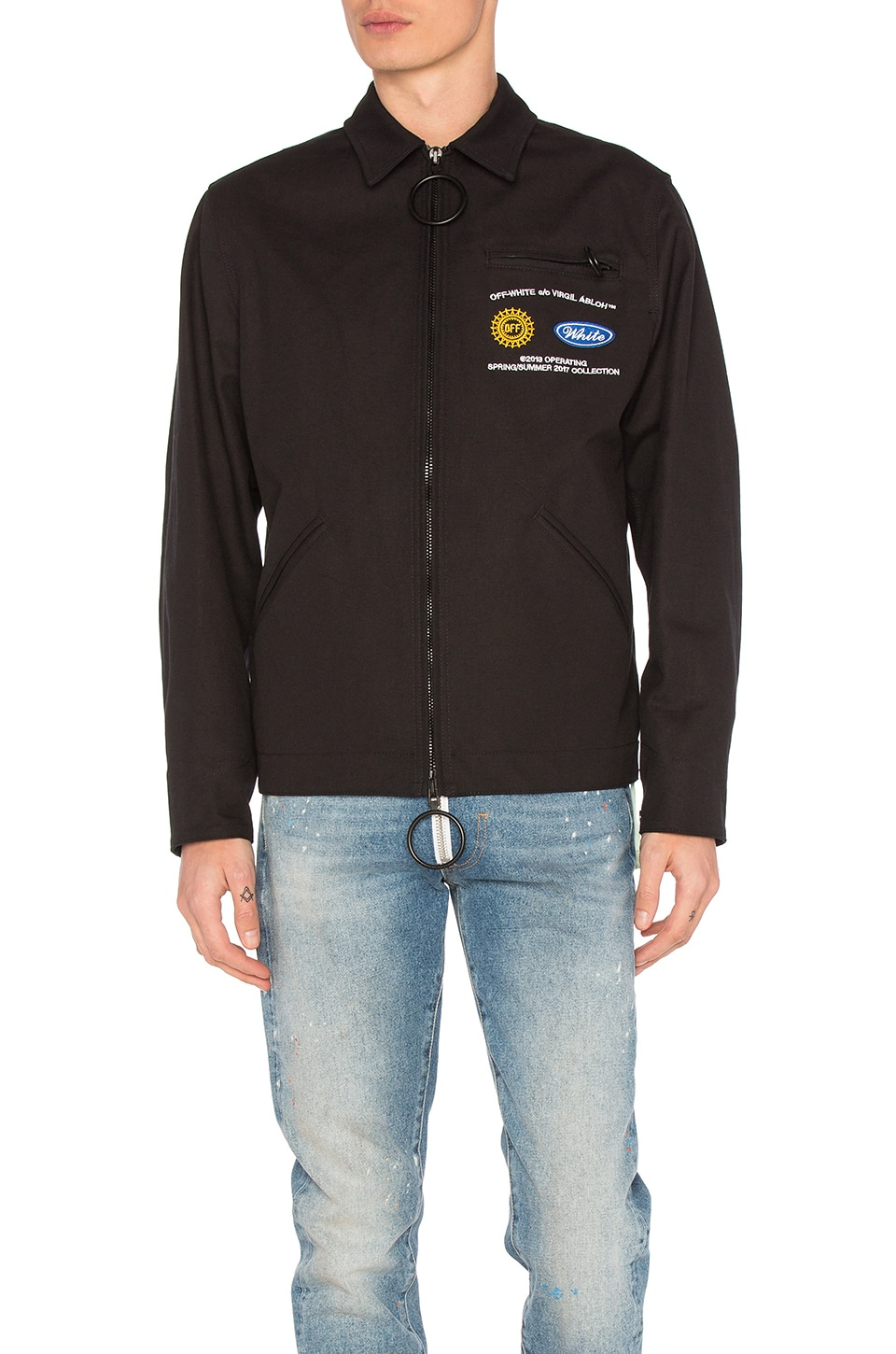 Work Jacket by OFF-WHITE