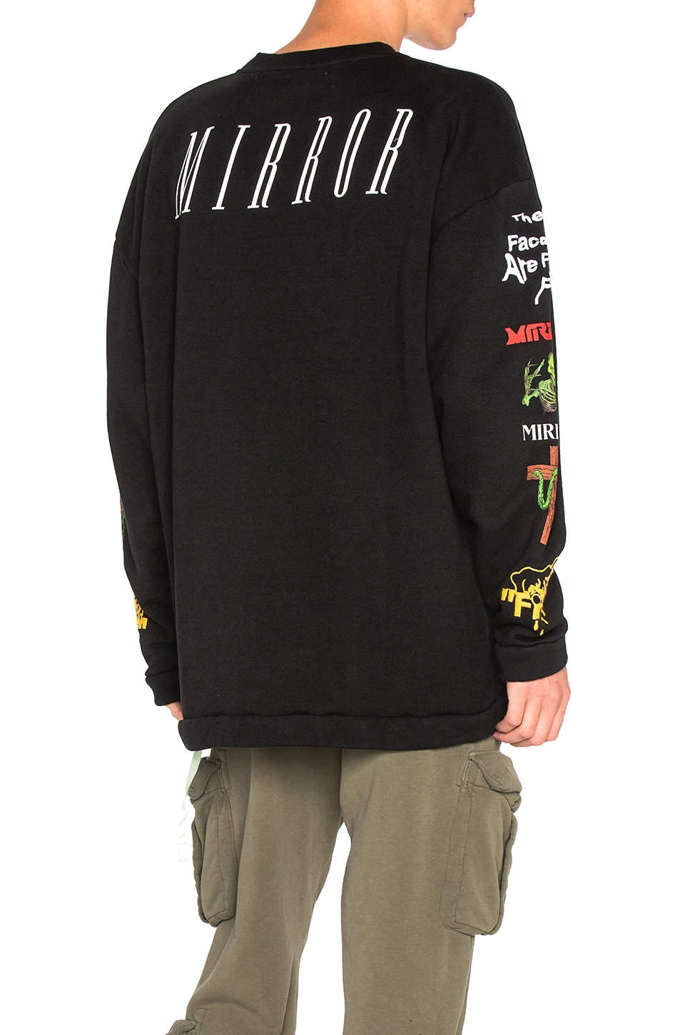 Mix Rock Crewneck by OFF-WHITE