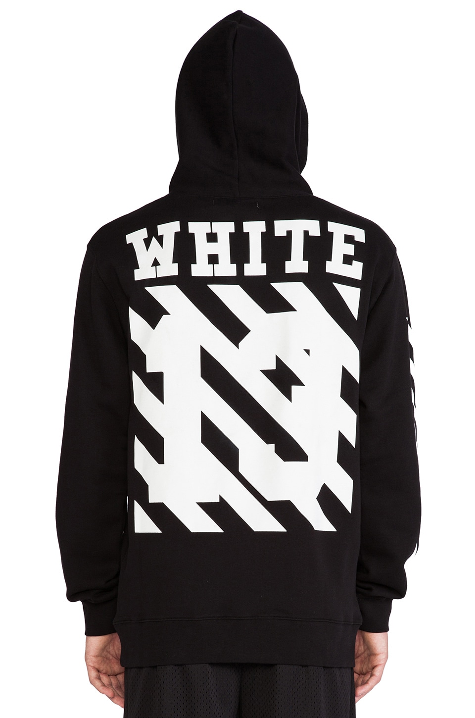OFF-WHITE Graphic Hoodie in Black | REVOLVE