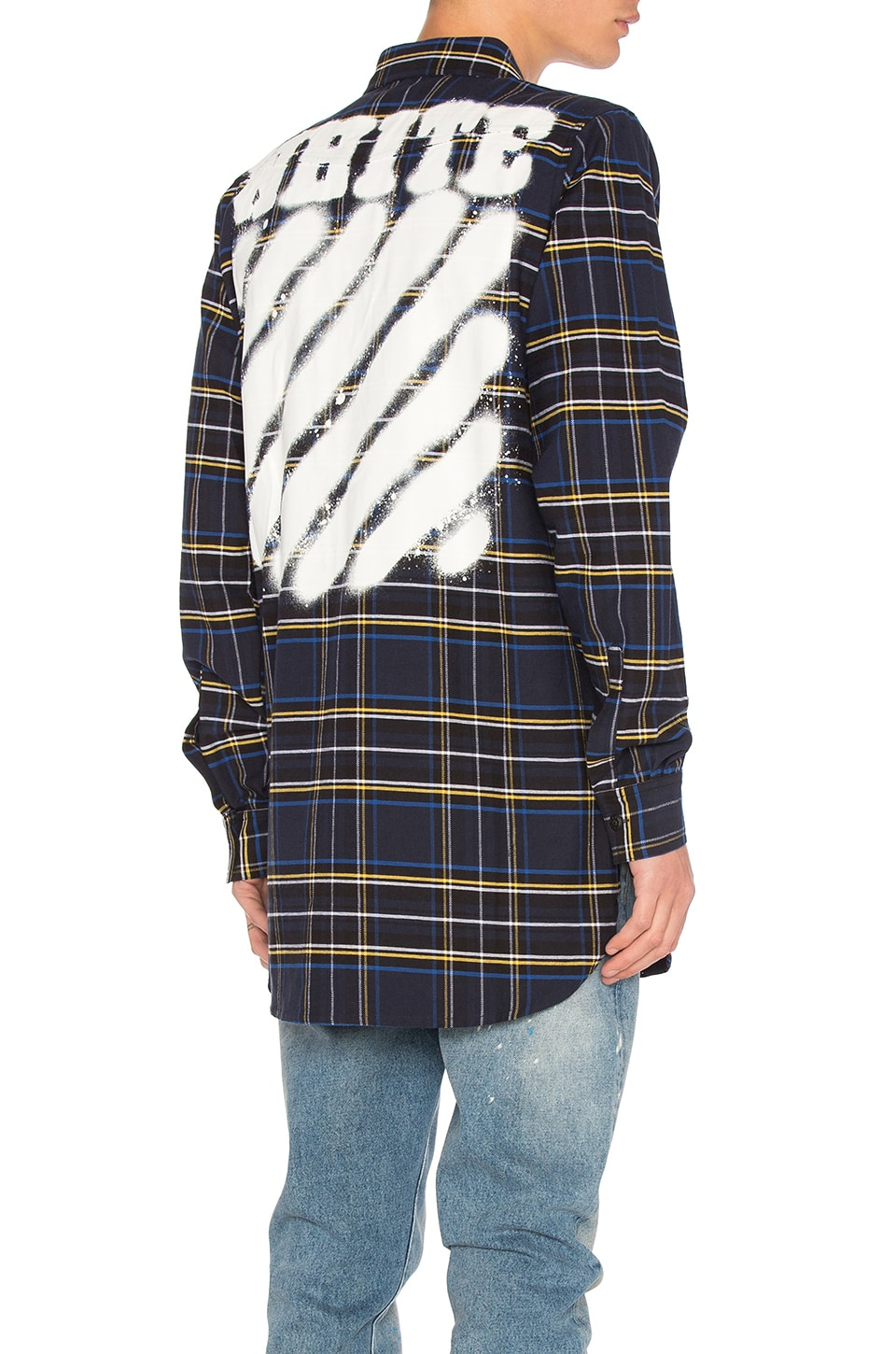 Diag Spray Check Button Down by OFF-WHITE