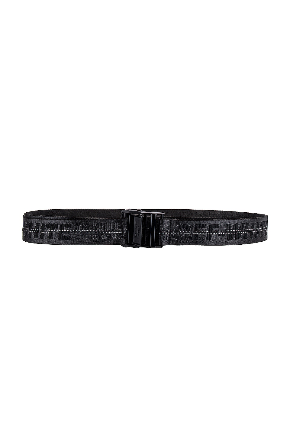 OFF-WHITE Industrial Belt in Black