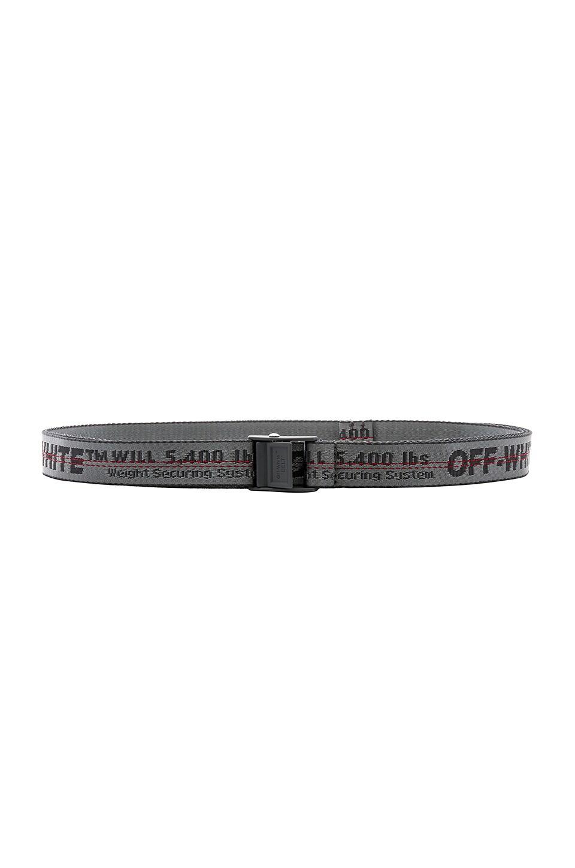 OFF-WHITE Mini Industrial Belt in Light Grey
