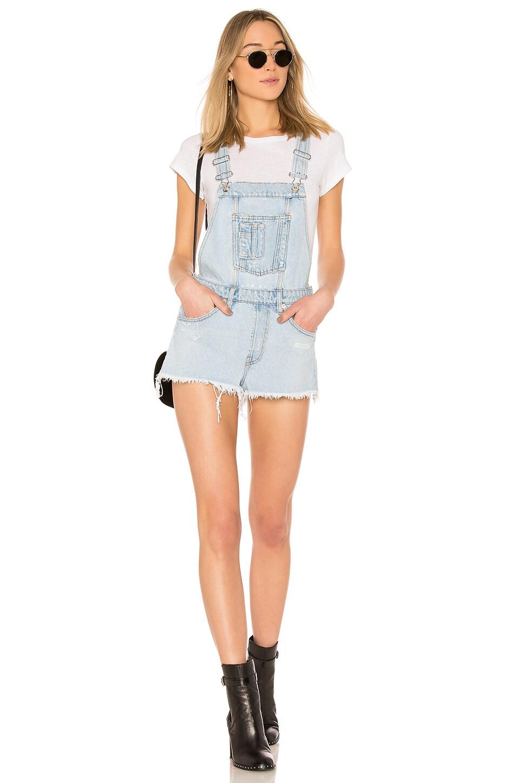 Denim Shorts Overall