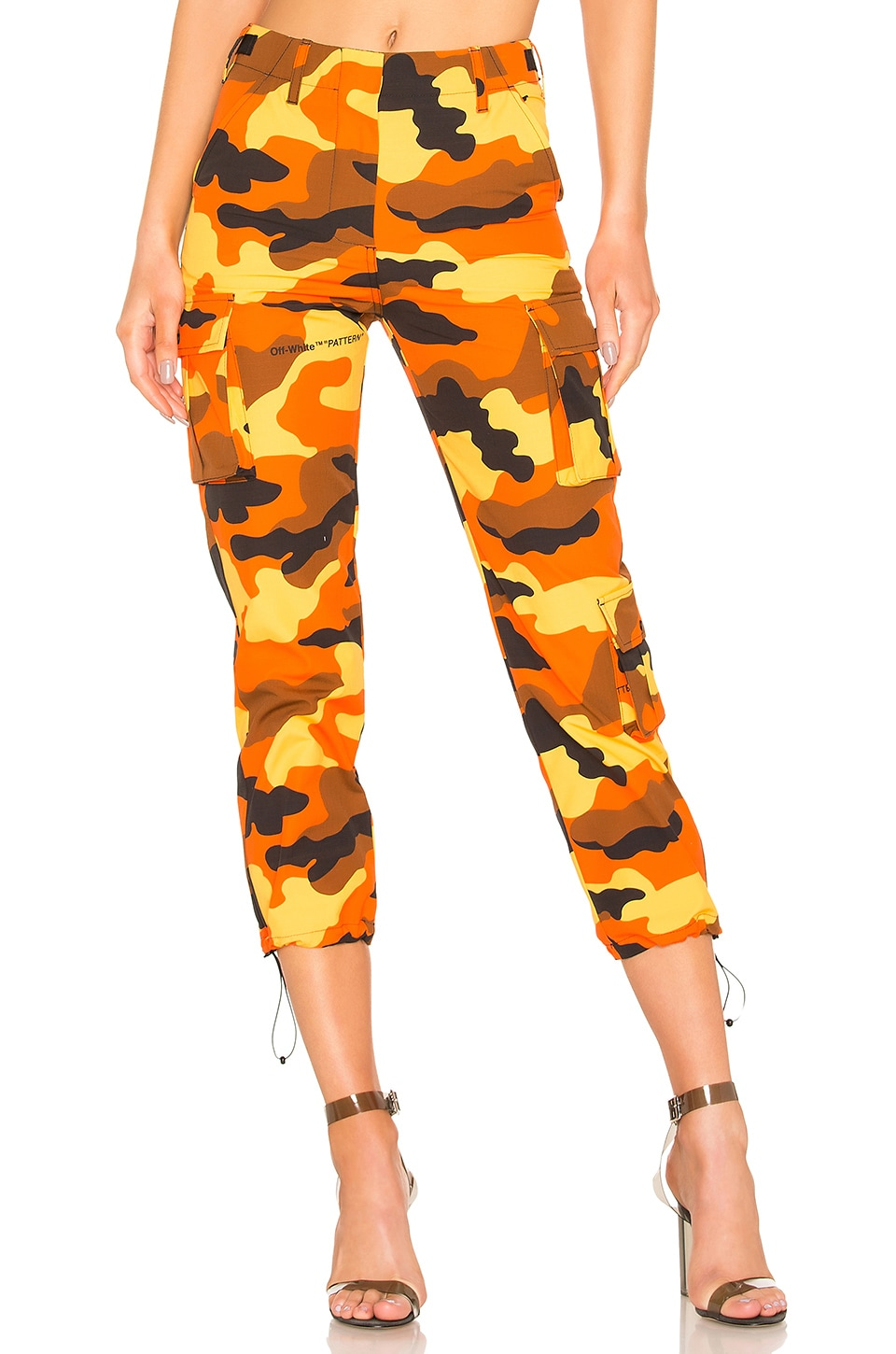 OFF-WHITE Camo Cargo Pant in All Over