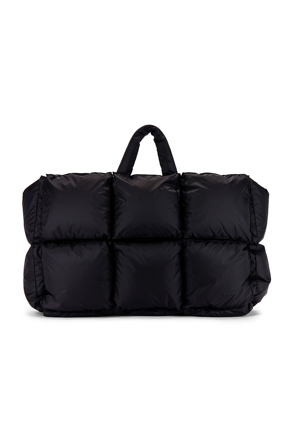 OFF-WHITE Puffy Nylon Bag in Anthracite
