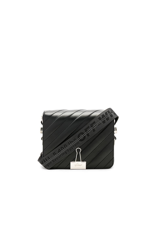 Diagonal Padded Flap Bag