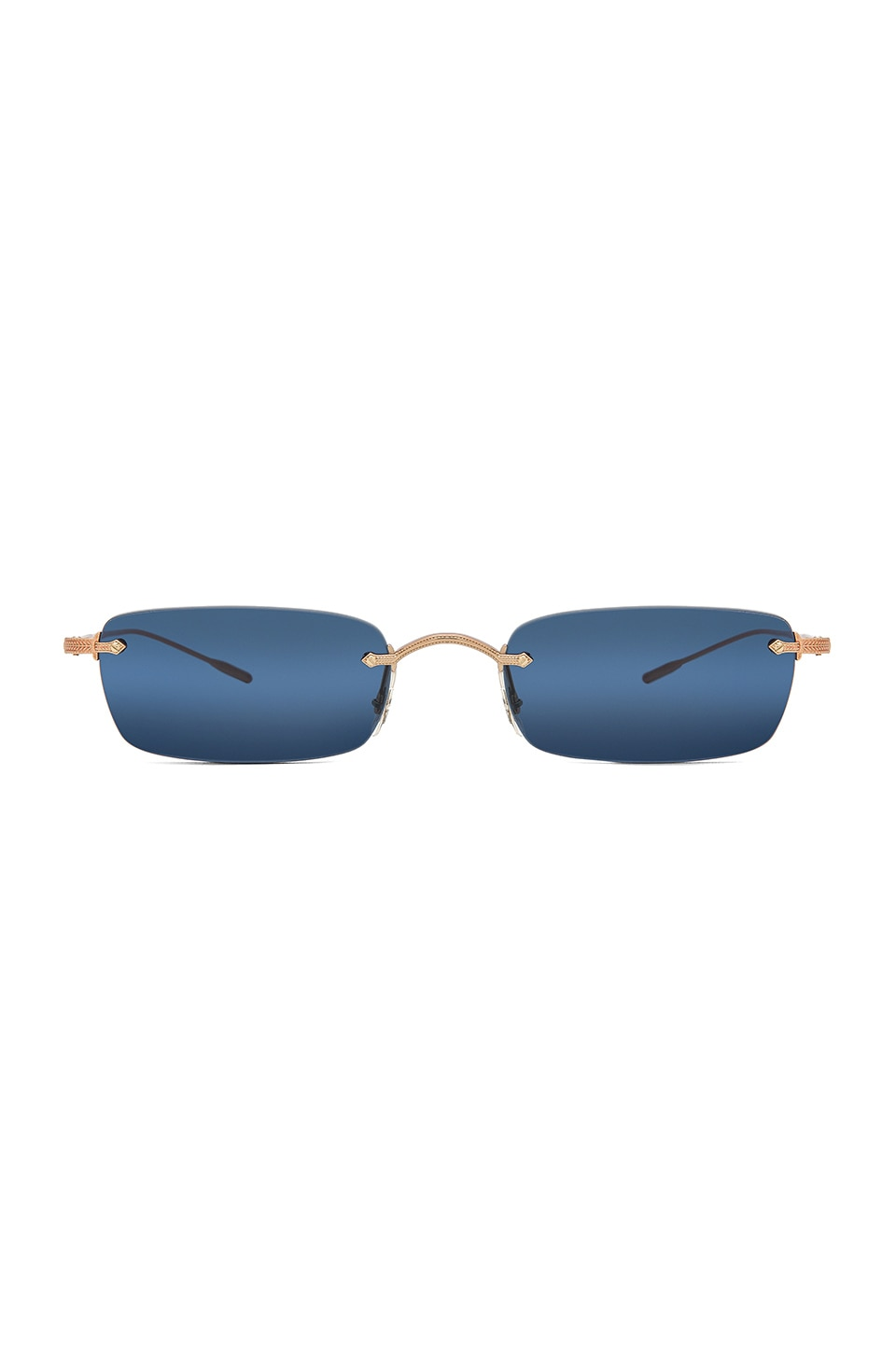 Oliver Peoples Daveigh in Rose Gold & Blue