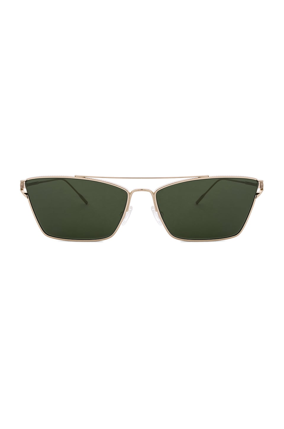 Oliver Peoples Evey in Gold & Green