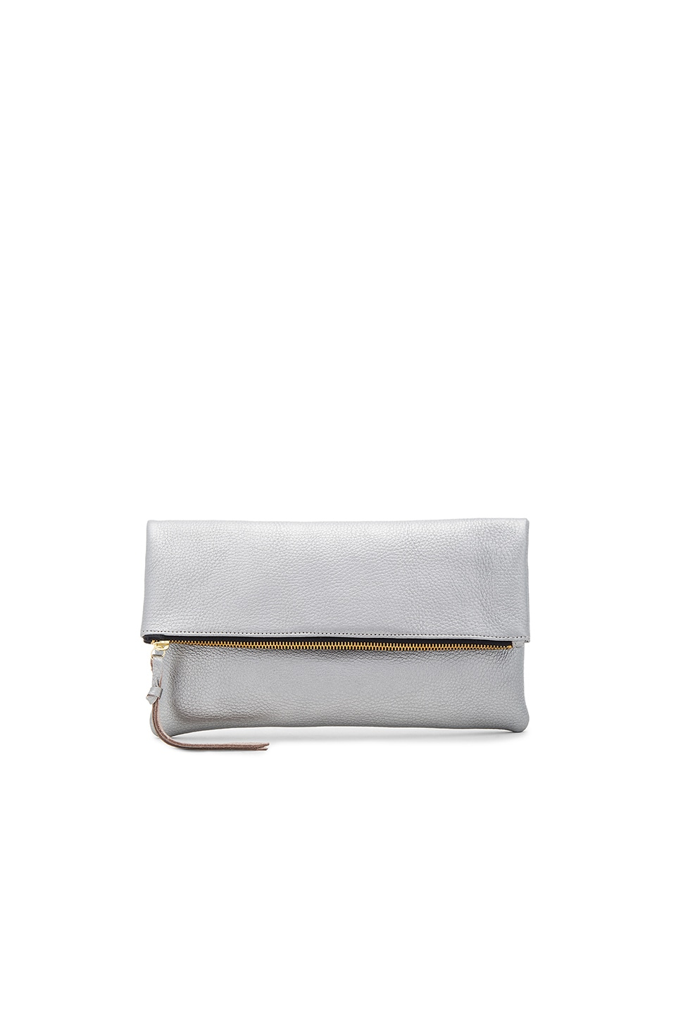 Oliveve Anastasia Clutch in Nickel