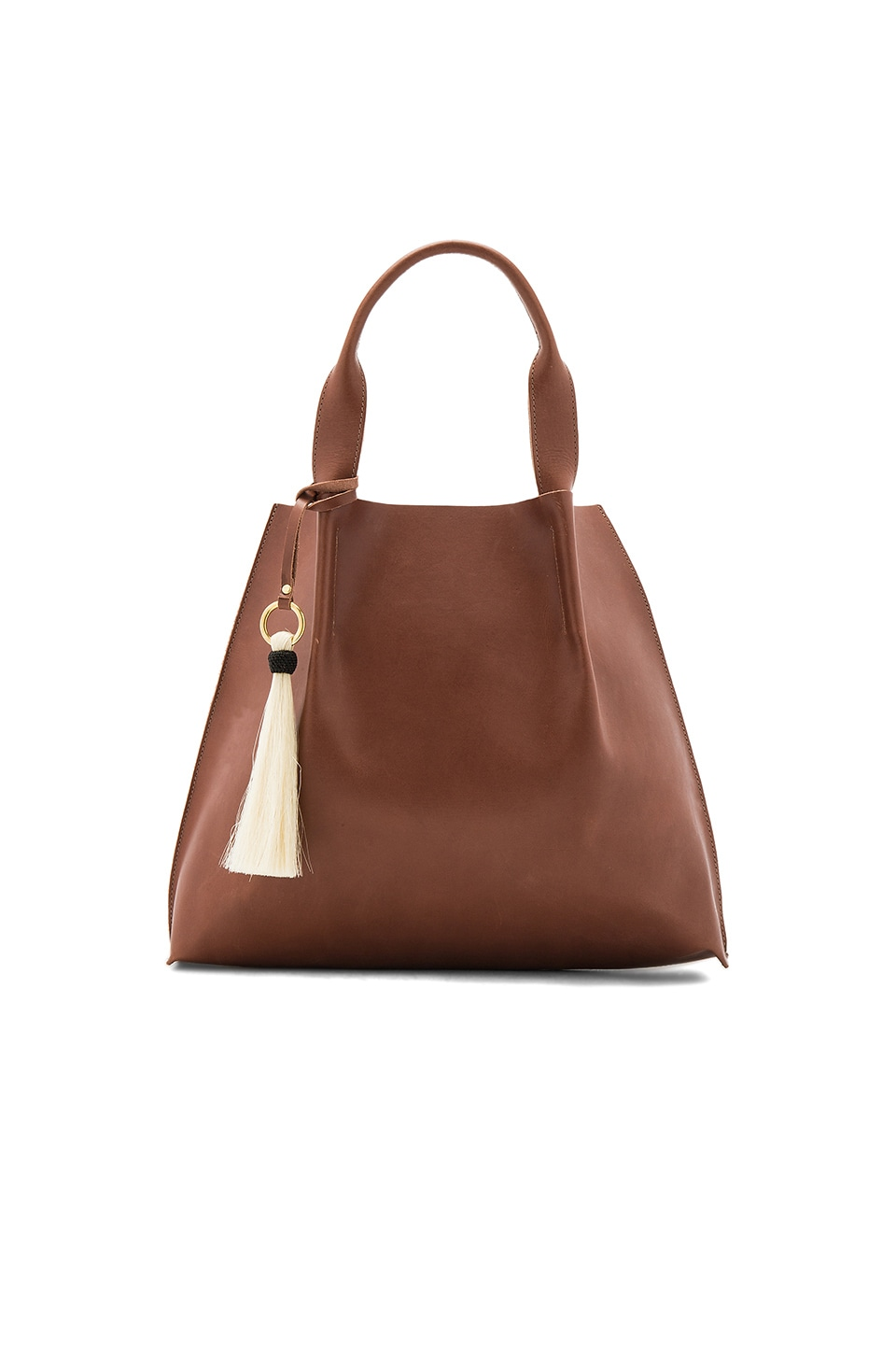 Oliveve Maggie Tote in Chestnut