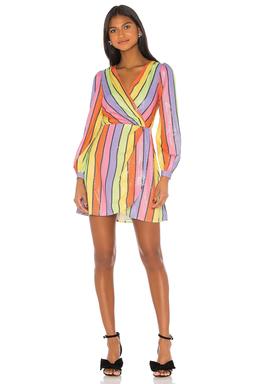 Olivia Rubin Meg Dress in Resort Stripe