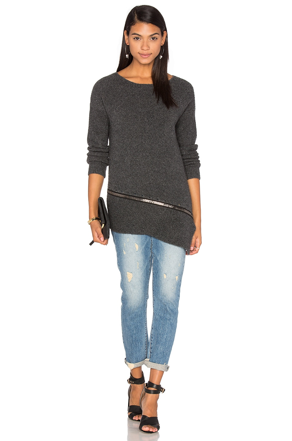 Carrey Sweater by One Grey Day