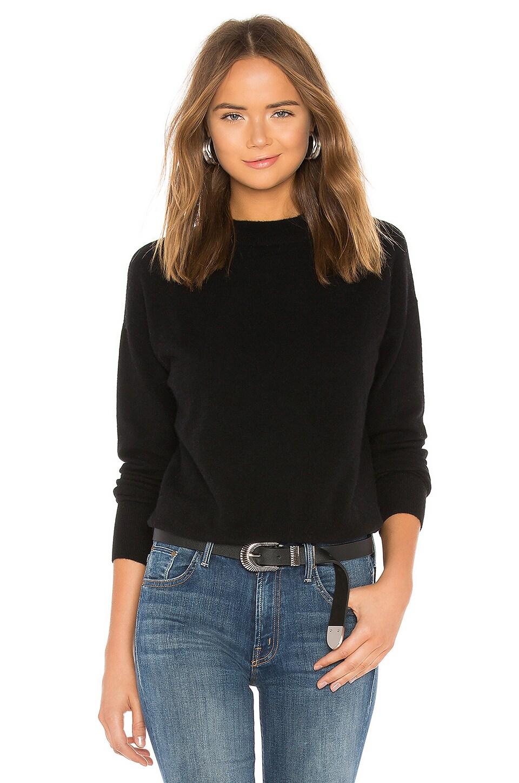 ONE GREY DAY Kim Sweater in Black