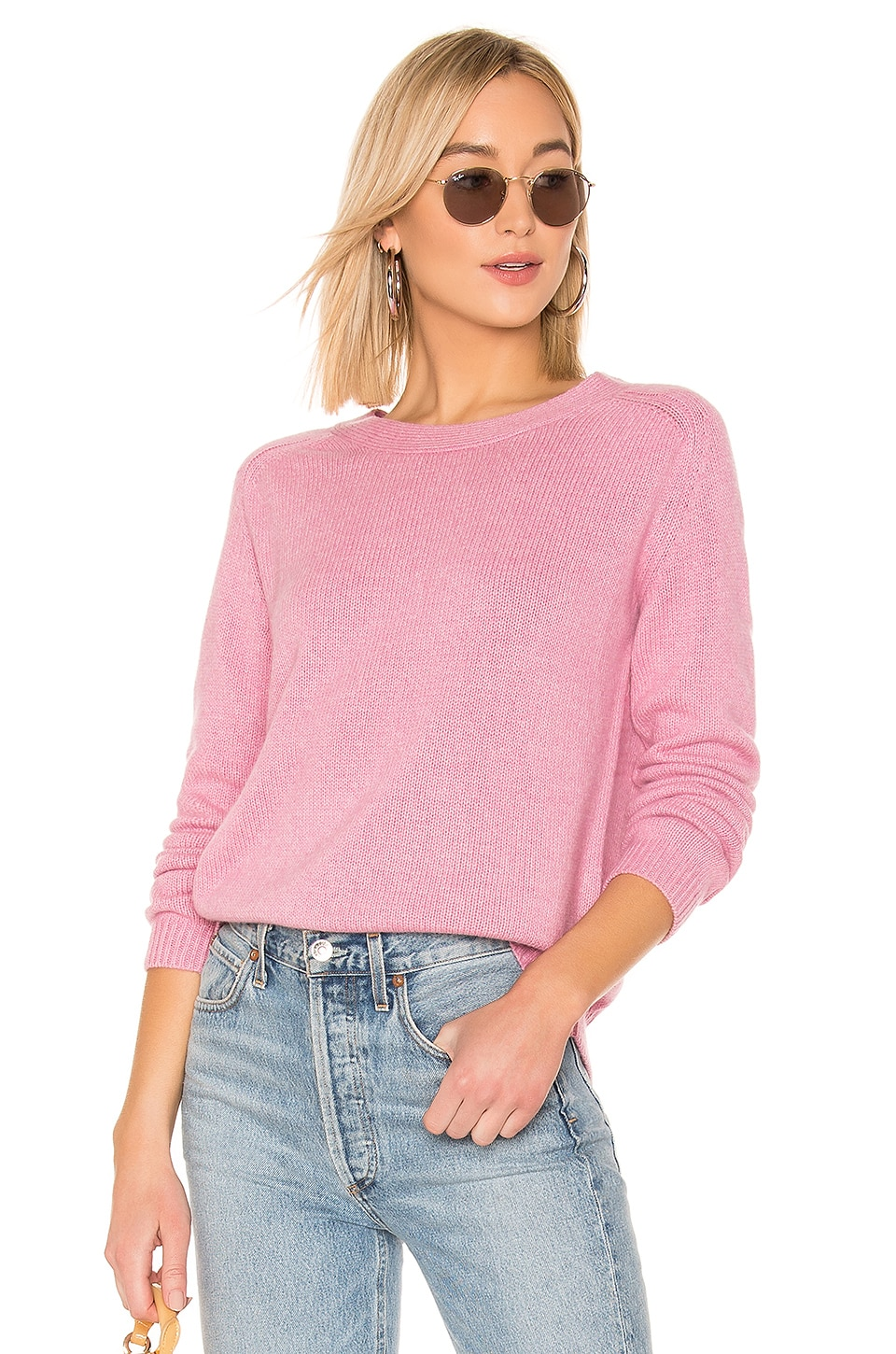 ONE GREY DAY Levi Pullover in Pink