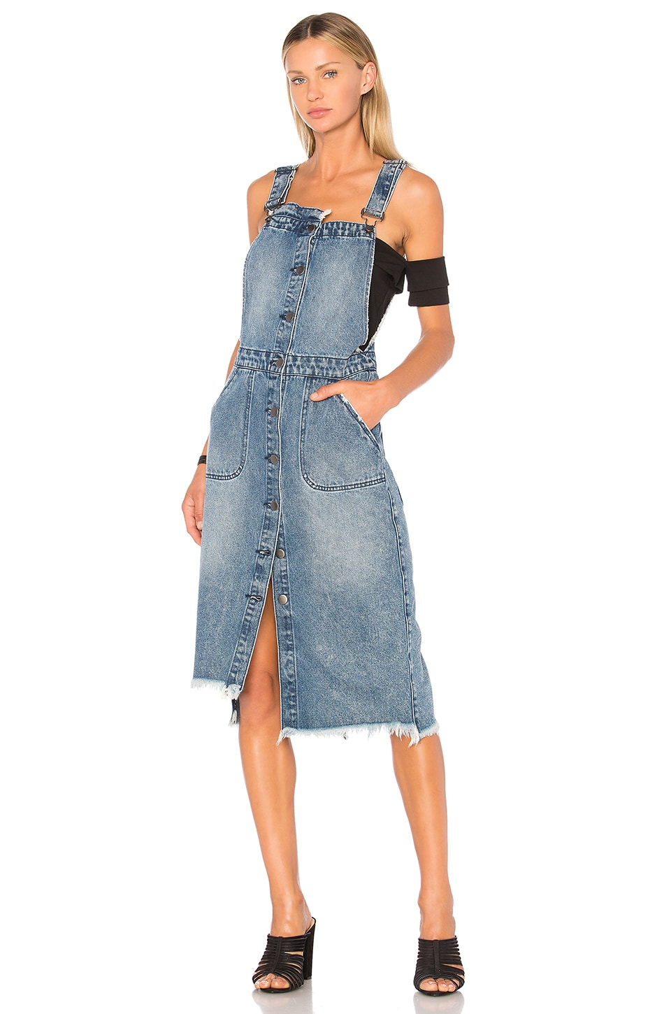 Dungaree Dress by One Teaspoon