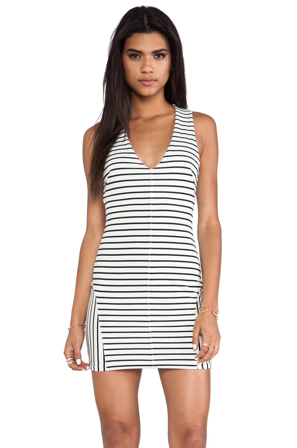 One Teaspoon Dead Sea Dress in Black & White