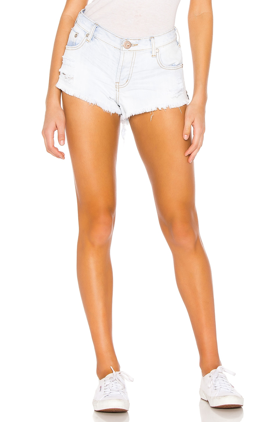 One Teaspoon Bonita Low Waist Short in Brando