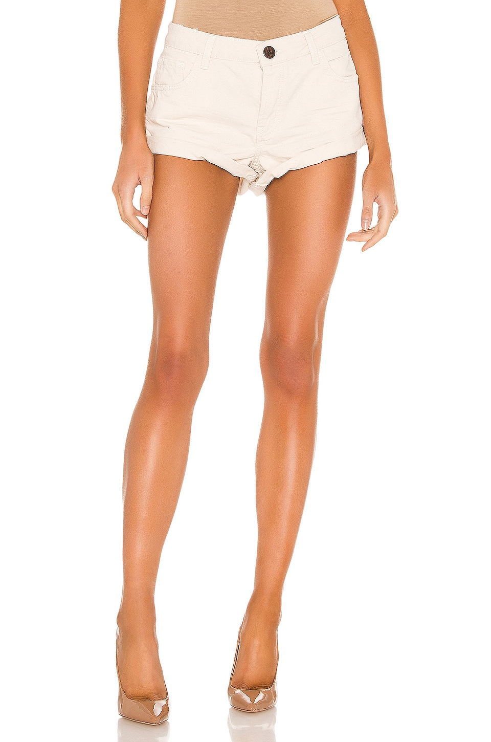 One Teaspoon Bandits Denim Short in Nashville Cream
