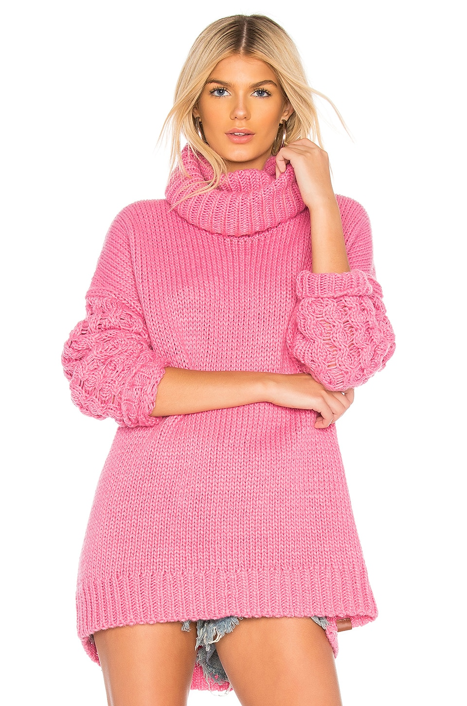 Rider Roll Neck Sweater
