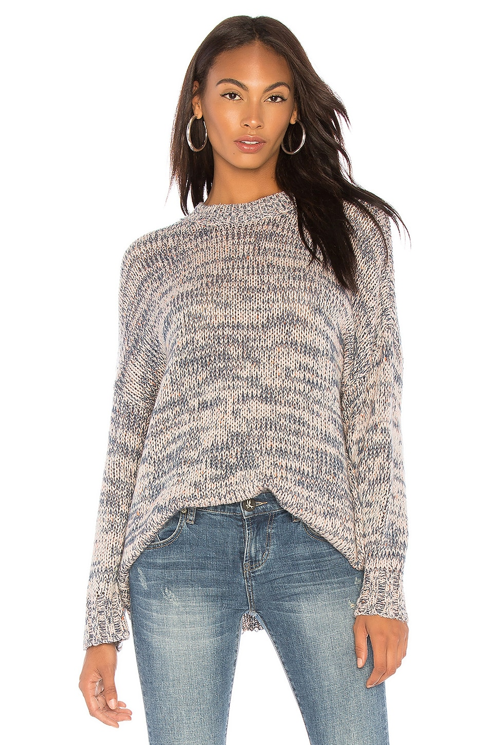 One Teaspoon Hackney Oversized Sweater in Multi