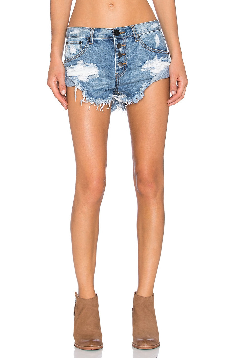 One Teaspoon Bandits Jean Short in Ford