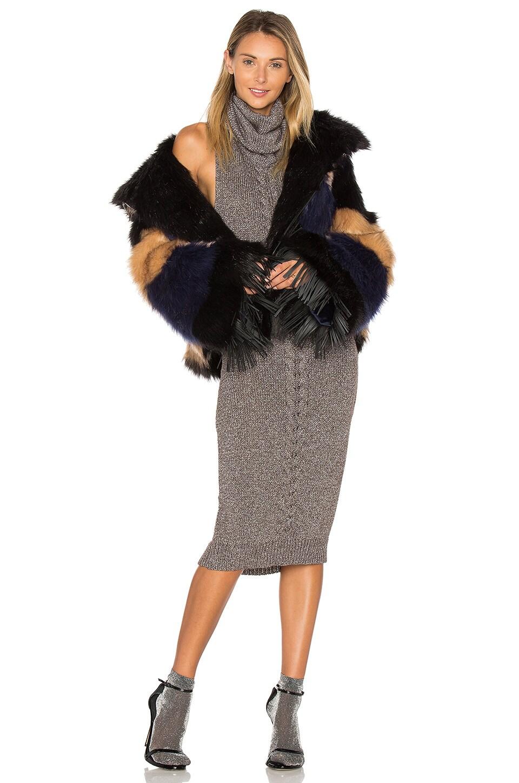 Rio Grande Le Crop Faux Fur Jacket by One Teaspoon