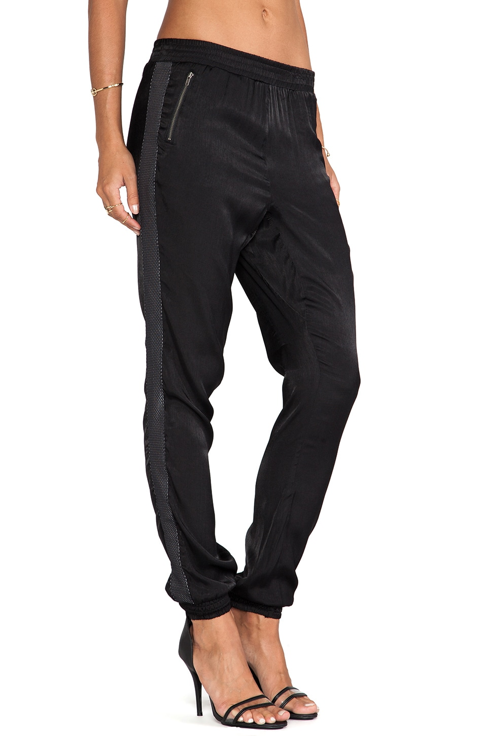 One Teaspoon Flying Tiger Pant in Black