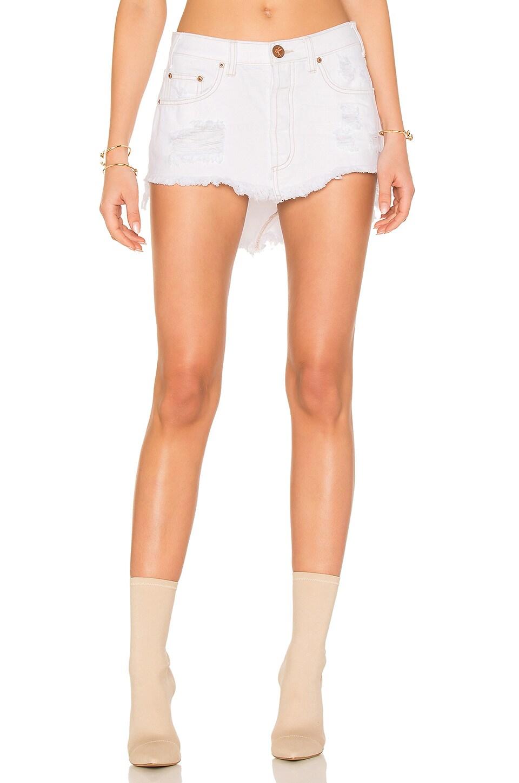 One Teaspoon Junkyard Skirt in Coco Cash