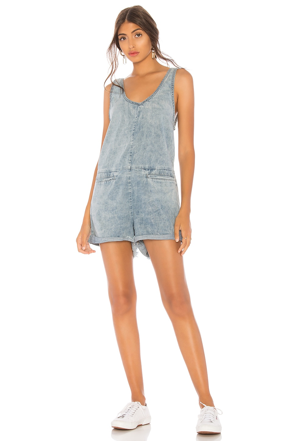 ONE TEASPOON DENIM ROMPER
