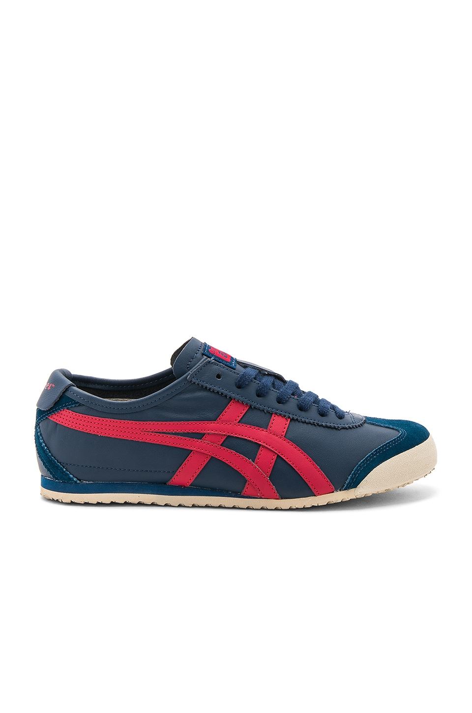 Onitsuka Tiger Mexico 66 in Poseidon & Classic Red