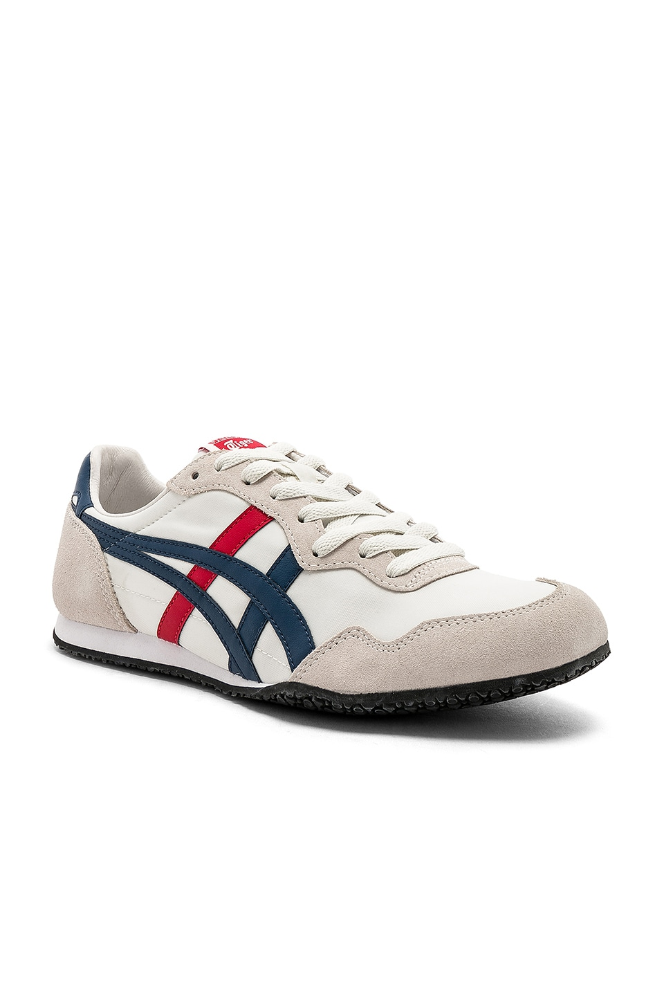 Onitsuka Tiger Serrano in White & Mallard Blue