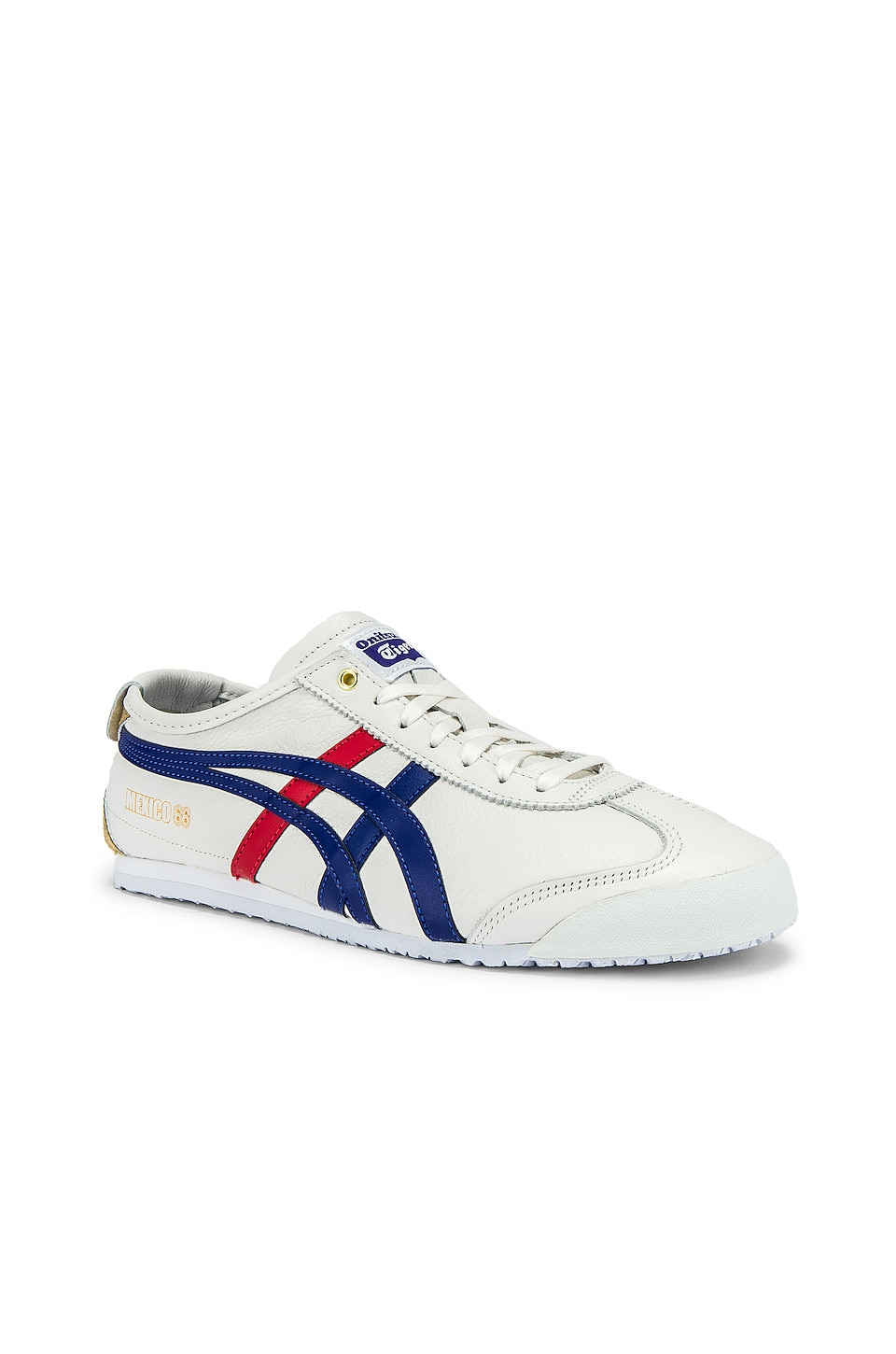 Onitsuka Tiger Mexico 66 in White & Dark Blue