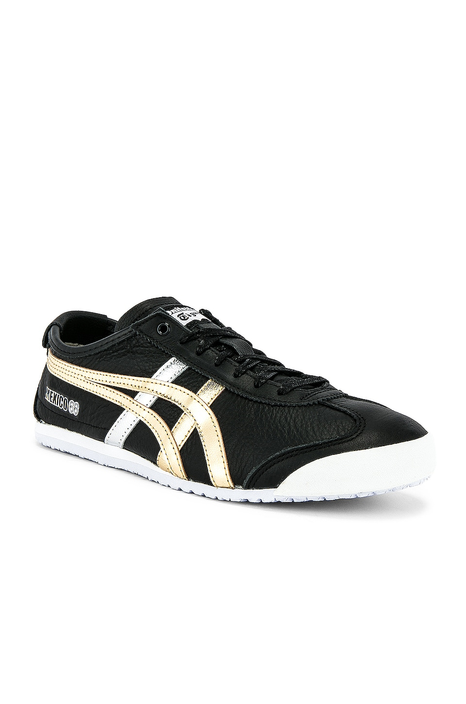 Onitsuka Tiger Mexico 66 in Black & Gold